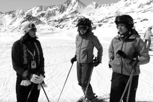 Našinci na lyžích