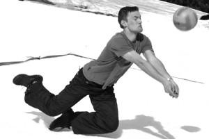 Snow-volejbalová akce